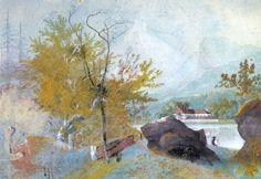 Stifter, Adalbert: Landschaft mit Angler