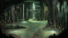 Картинка пещера кощея
