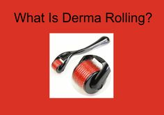 What is Derma Rolling?  Click link to read the article:  http://skincaretipguide.com/free-derma-roller