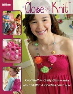 Bucilla Close Knit- No Knit Fashion Book, 9901 - I Crochet World Knitting Kits For Beginners, Baby Kit, Kits For Kids, Knit Fashion, Fashion Books, Crochet Projects, Christmas Stockings, Sewing Crafts, Knit Crochet