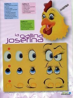 .Painting Chicken faces