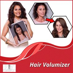 Hair Volumizer is a best solution for a woman looking for a little more top of the head coverage and that can be combined with regular hair extensions to complete a total look.