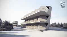 tetra shed® motel proposal created by 3 storeys of 3 joined units. Building Systems, Motel, Proposal, Opera House, Shed, The Unit, Architecture, Arquitetura, Opera