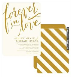 striped wedding invitations   VIA #WEDDINGPINS.NET
