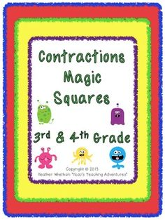 HoJos Teaching Adventures: Magic Square EXPLOSION! (New & Updated Products and FREEBIES!)