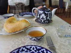 Uzbekistan tea & bread