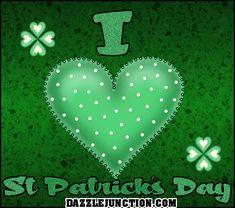 I love St. Patrick's Day St Patricks Day Pictures, Happy St Patricks Day, Irish Roots, Irish Girls, Irish Blessing, St Paddys Day, Glitter Graphics, Luck Of The Irish, Favorite Holiday