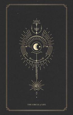 The Totem of the Circle of Life – – taurus constellation tattoo Tatoo Art, Body Art Tattoos, Constellation Tattoos, Circle Of Life, Circle Circle, Compass Tattoo, Line Art, Tattoo Designs, Pattern