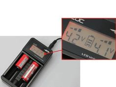 Amazon.com: Efest LUC Charger with Digital LCD Battery Readout: Electronics