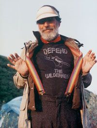 I love this man... he changed my perception of the eco-terrorism movement.