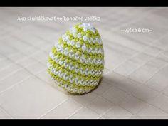 Háčkované veľkonočné vajíčko 3D - YouTube