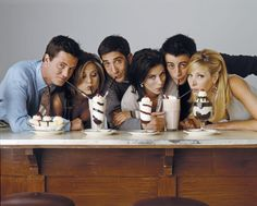 """27 Rare Photos Of The Cast Of """"Friends"""" Will Make You Wish It Was 1994 All Over Again"""