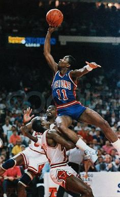 Isiah Thomas. Vintage Basketball.