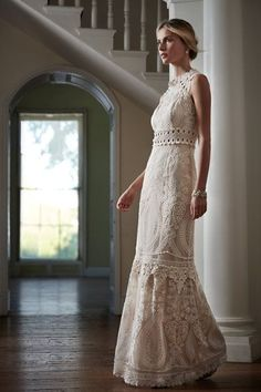 BHLDN Roane Gown in  Bride Wedding Dresses at BHLDN
