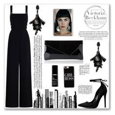 """""""Untitled #19"""" by sonja-br ❤ liked on Polyvore featuring Victoria Beckham, Zimmermann, Oscar de la Renta, RoomMates Decor and Casetify"""