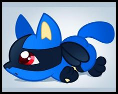 how to draw chibi lucario