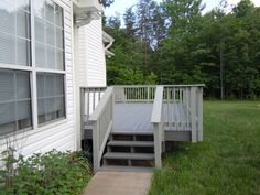 Deck Behr Solid Stain Pewter Floor & Harbor Gray Railing