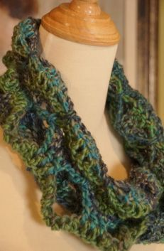 Butterfly Infinity Cowl/Scarf - The Crochet Crowd
