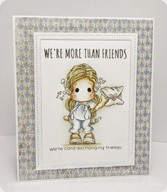 Ashlee's Magnolia Design's: We're card exchanging friends....!!