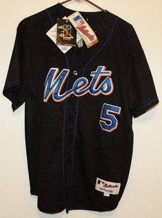 6d917c325 Majestic Authentic New York Mets David Wright Stitched Baseball Jersey Sz  50 NWT   14.00 (