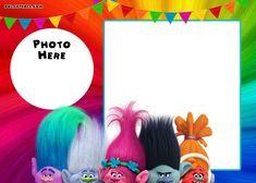 Download Now FREE Printable Trolls Invitation Template Cumple Fiesta De Cumpleanos Fiestas