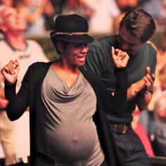 Halle Berry and Olivier Martinez Break It Down to Earth, Wind, and Fire