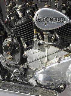 1937 CROCKER MOTORCYCLE 'Hemi-Head' V-Twin * One of five 'hemi-head' Crockers built in '37. Immaculately restored by Johnny Eagle.