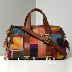 Fossil Handbags, Fossil Bags, Foldover Bag, Leather Bags Handmade, Cross Body Handbags, Mini Bag, Purses And Handbags, Suede Leather, Crossbody Bag