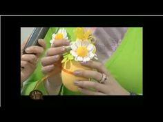 MANI DI LARA - Uova decorate con gomma crepla e Big Shot - YouTube