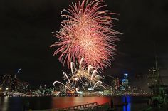 The Melbourne skyline will be lit up with a spectacular light show every Friday evening this