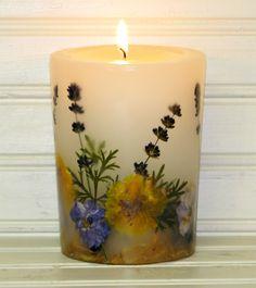 SDCandleFactory Lavender Botanical Candle