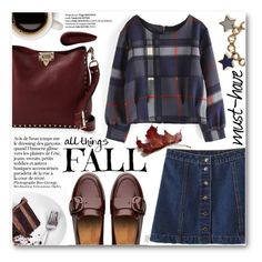 """""""All Things Fall"""" by stylemoi-offical ❤ liked on Polyvore featuring Valentino, FitFlop, Marc by Marc Jacobs, Surratt, stylemoi and fallloafers"""