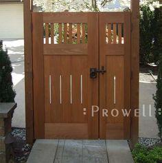 Wood gate designs photos wooden entrance gate along for Double garden gate designs