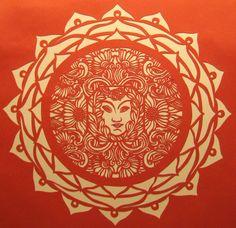 gail mccormick paper goddess mandala