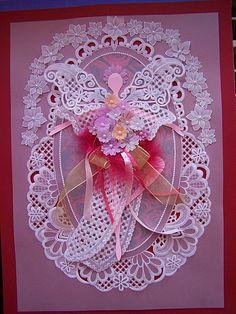 Carte en Pergamano - Quelques violettes… - Papillon blanc - L'été approche ... - Des jumeaux :… - Première Communion - Elfe et papillon - Pergamano façon… - Mon ange ... - Effet vitrail - Il porte bonheur ! - Envolée de papillons - Carte naissance… - Carte pergamano et… - Cartes Papillons :… - Cartes de Communion - Tina Créa