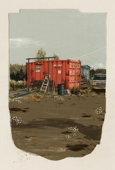 King Salmon, AK - Art - Pat Perry