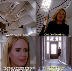 Dear god I love Jessica Lange and Sarah Paulson Series Movies, Movies And Tv Shows, Movies Showing, American Horror Story Series, Bob Marley, Horror Show, Evan Peters, Best Shows Ever, Horror Stories