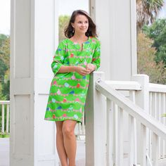Elliotborough- The Tunic Home to hipsters, doctors, and rapid change- the best way to fit into this buzzing borough is to stand out. A breezy tunic in a bold print feels just right! - ¾ length sleeves