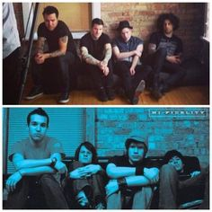 Fall Out Boy recreating Take This to Your Grave album artwork 10 years later
