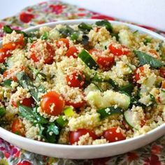 Fourth of July Couscous Salad