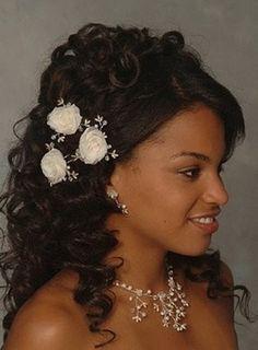 Black Wedding Hairstyles Brilliant Wedding Hairstyles For African American Women  African American