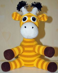 no - Garn Blend Bamboo Crochet Baby Toys, Crochet Animals, Crochet For Kids, Diy Crochet, Amigurumi Toys, Little People, Tigger, Hello Kitty, Dinosaur Stuffed Animal