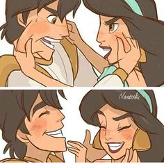 Natsuki Disney Aladdin and Jasmine Disney Animation, Disney Pixar, Disney Ships, Disney Memes, Disney Fan Art, Disney And Dreamworks, Disney Characters, Walt Disney, Disney Jasmine