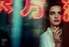 Beijing Romance – Photographed by Peter Lindbergh, Natalia Vodianova stars in the cinematic June cover shoot from Vogue China. Alongside male model Zhao Lei, Natalia dons an elegant wardrobe featuring some of the season's most coveted looks from the likes Cinematic Photography, Night Photography, Portrait Photography, Fashion Photography, Glamour Photography, Lifestyle Photography, Editorial Photography, Vogue China, Natalia Vodianova