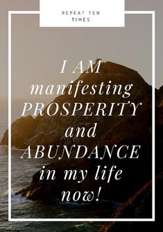 I am manifesting Prosperity and Abundance in my life now. Prosperity Affirmations, Money Affirmations, Positive Affirmations, Positive Vibes, Positive Quotes, Law Of Attraction Love, Levels Of Understanding, Manifestation Law Of Attraction, Manifesting Money