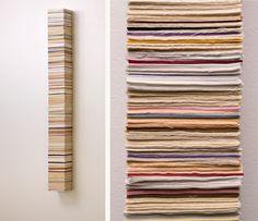 "materials: plywood, fabric  25"" x 6"" x 13"""