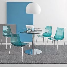 Connubia Led Side Chair with single-shell seat and backrest in SAN technopolymer. The wraparound, yet streamlined shape of the seat makes it pleasant and ergonomic to use. Stackable to save space. Dining Room Chairs, Dining Room Furniture, Side Chairs, Dining Rooms, Contemporary Dining Chairs, Modern Chairs, New Furniture, Furniture Design, Stationary Storage