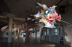 Ai Weiwei investit la prison d'Alcatraz avec sept installations monumentales