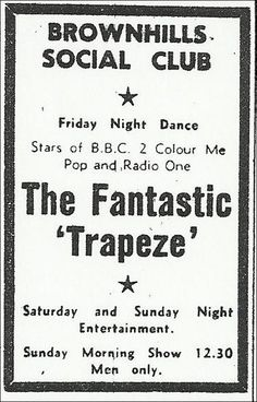 Trapeze ~ Friday, July 11th, 1969