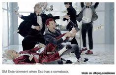 So True! SM on EXO | allkpop Meme Center